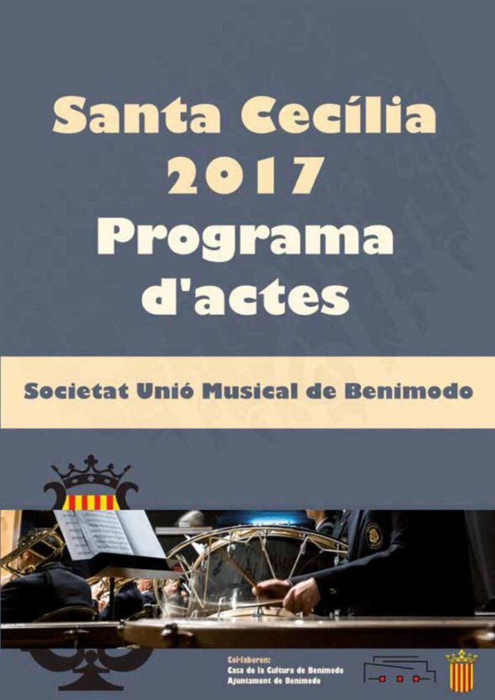 La Societat Unió Musical de Benimodo viu els actes de Santa Cecília