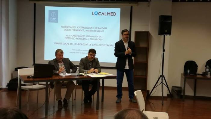 L'Ajuntament d'Alzira participa en la jornada de l'EURAM sobre l'àmbit local de l'Euroregió de l'Arc Mediterrani