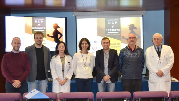 El centro de Alzira ha acogido hoy las III Jornadas de Reanimación Cardiopulmonar (RCP) y Deporte.