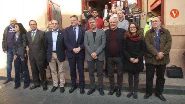 Puig agraeix al sindicat de CCOO la participació en la mobilització del pròxim 18 de novembre
