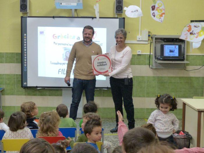 """Save the Children reconeix l'escola infantil municipal Verge del Pilar d'Algemesí com a """"Centre solidari compromès amb la infància"""""""