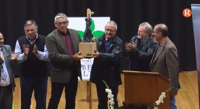 La Coordinadora de Centres d'Ensenyaments en Valencià ha rebut el Guardó d'Honor de la Mancomunitat de la Ribera Alta 2017