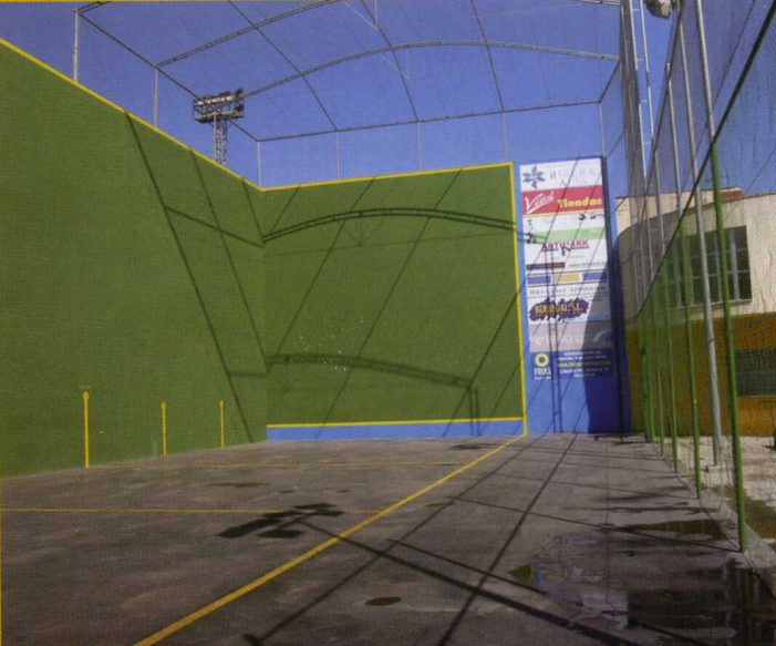 Els veïns d'Alcàntera de Xúquer reclamen la construcció d'un frontó cobert