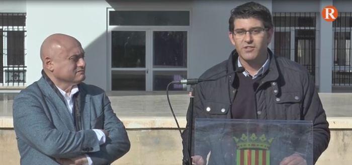 Jorge Rodríguez visita Benimodo per comprovar l'estat de les accions dutes a terme amb fons de la corporació provincial