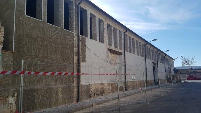 Les obres de la segona fase comencen a donar forma al Casal Jove d'Alzira