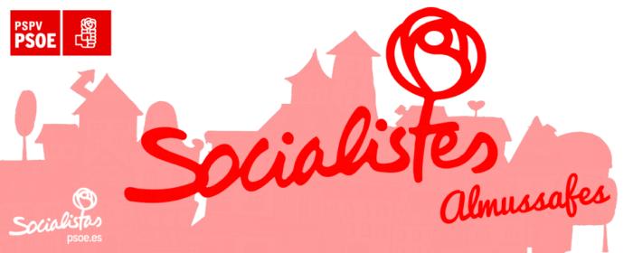 Los socialistas de Almussafes celebran sus 200 afiliados con la visita de Ximo Puig y Jorge Rodríguez