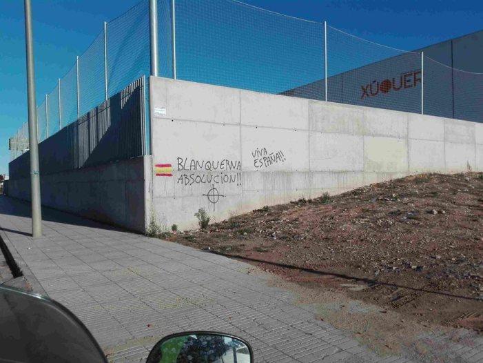 Alzira taparà les pintades neonazis