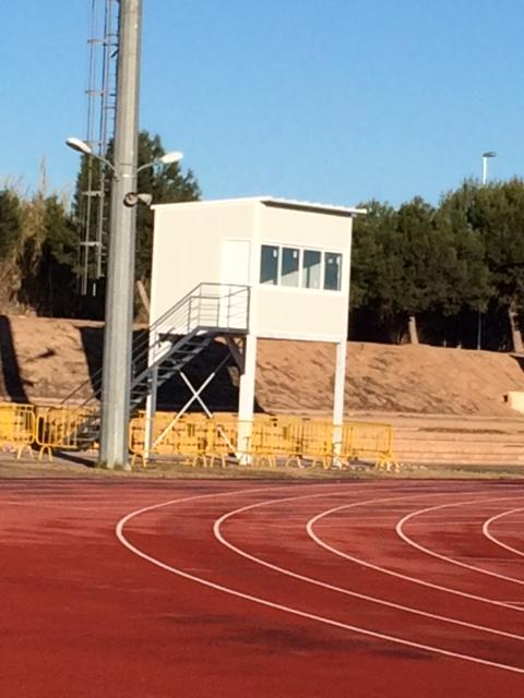 Alzira ja compta amb dispositiu 'foto finish' a la pista d'atletisme