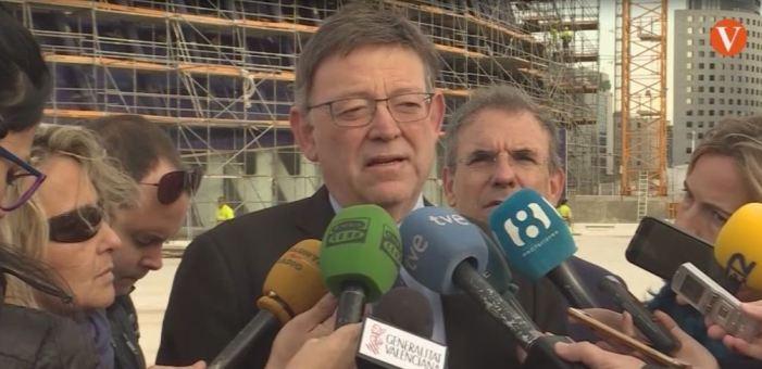 """Puig: """"Les obres de l'Àgora finalitzen al juny"""