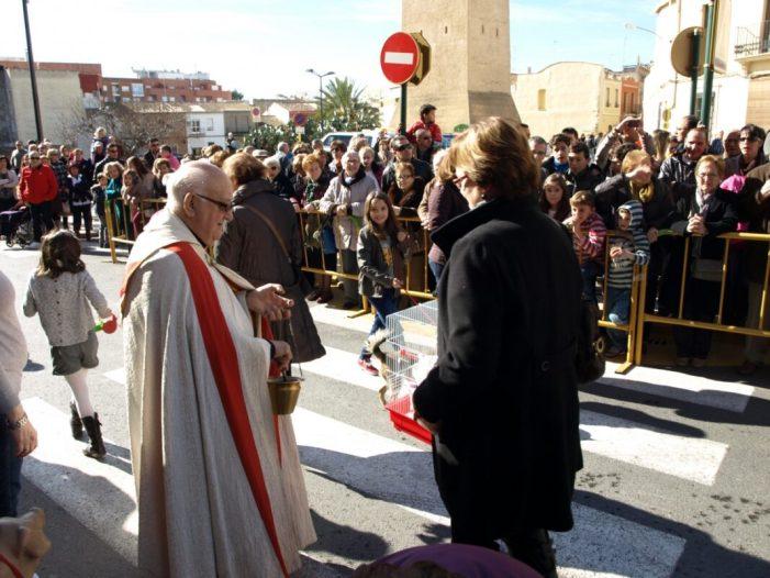 La Penya de Carreters d'Almussafes es prepara per a la celebració de Sant Antoni
