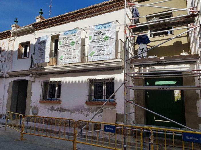 Alcàntera del Xúquer construeix la seua nova biblioteca amb ajuda de la Diputació