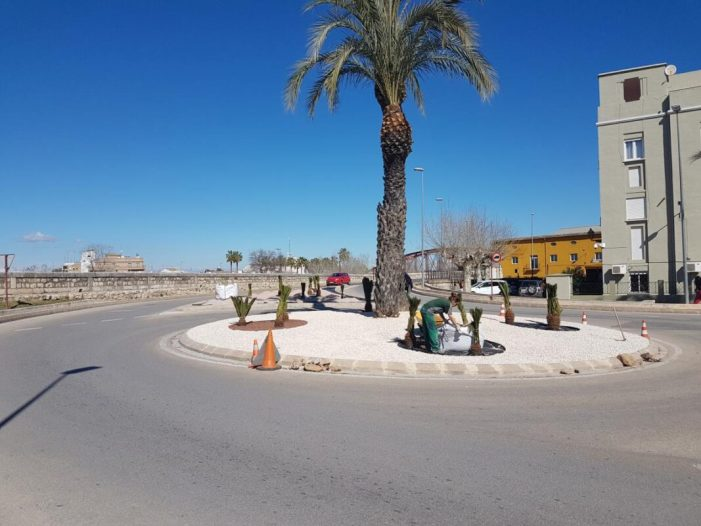 L'Ajuntament d'Alzira aposta per un disseny que recolze la sostenibilitat en les rotondes de la ciutat