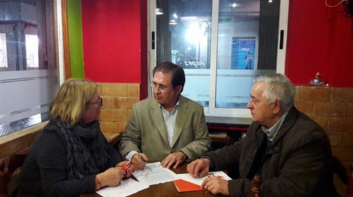 Ciutadans (Cs) d'Alzira es reunix amb Juan Córdoba per a tractar la reversió de l'Hospital de la Ribera