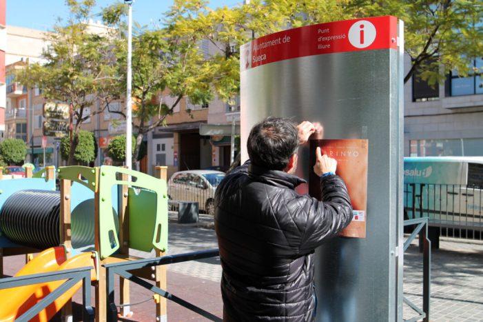 L'Ajuntament de Sueca millora el seu dispositiu urbà d'informació al ciutadà