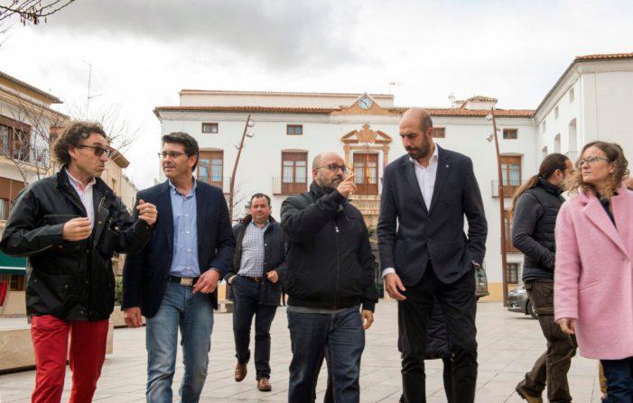 Utiel rehabilita la Puerta del Sol per a convertir-la en punt de trobada veïnal amb ajuda de la Diputació