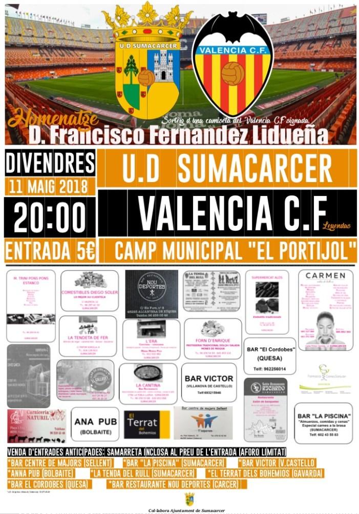 """El Sumacàrcer s'enfrontarà a les llegendes del València CF per homenatjar a """"Fransua"""""""