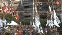 Reyes Martí dispara la mascletà del dia 16 de març a Alzira