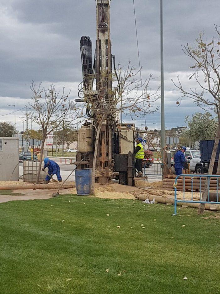 Han començat les obres de perforació del nou pou de Tulell que abastirà aigua de reg per a les zones verdes