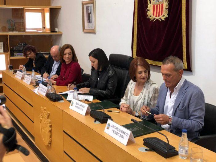 Empal i Acsa col•laboraran en la difusió de l'agenda cultural i les campanyes d'igualtat de l'Ajuntament d'Algemesí