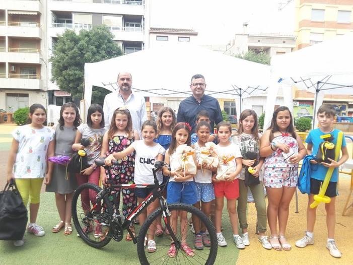 Joan Aguado guanya el XIV Concurs 'Troba la Mascota del Mes de l'Esport' d'Almussafes