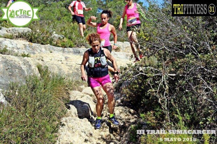 Ximo Martínez i Cristina de la Torre s'imposen en l'III Trail Sumacàrcer