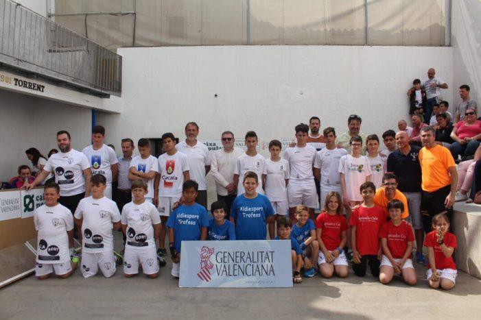 El Club de Pilota Valenciana Alzira, campió autonòmic en els Jocs Esportius de la Comunitat Valenciana