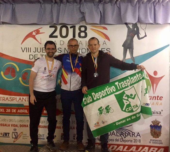 Blai Signes s'ha proclamat subcampió de ciclisme en ruta i en la prova contrarellotge en els VIII Jocs Nacionals per a Trasplantats