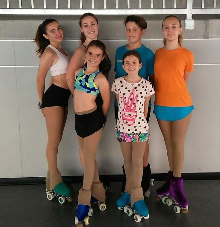 Alginet, seu del Campionat autonòmic de Patinatge modalitat Solo dance