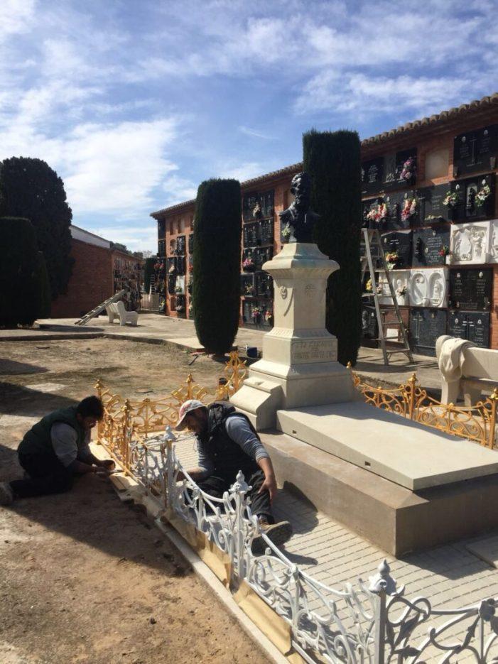 Cullera restaura el mausoleu del lliurepensador laïcista Agustí Costa