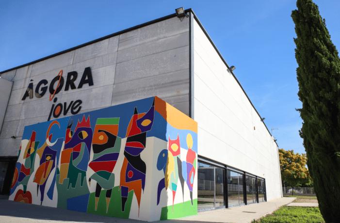 Mural participatiu a l'Alcúdia