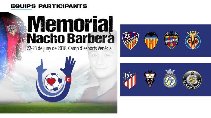 Hui s'ha presentat el Memorial Nacho Barberà