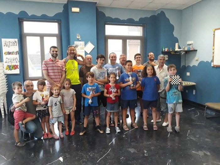 Moisés Ruiz i MiguelAsinsguanyen el XIX Torneig d'Escacs Vila d'Almussafes