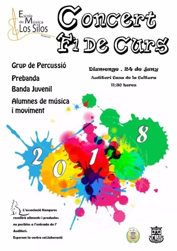 L'Agrupació Musical Les Sitges celebra el seu final de curs amb dos concerts en la Casa de Cultura, un d'ells solidari amb Kanguros