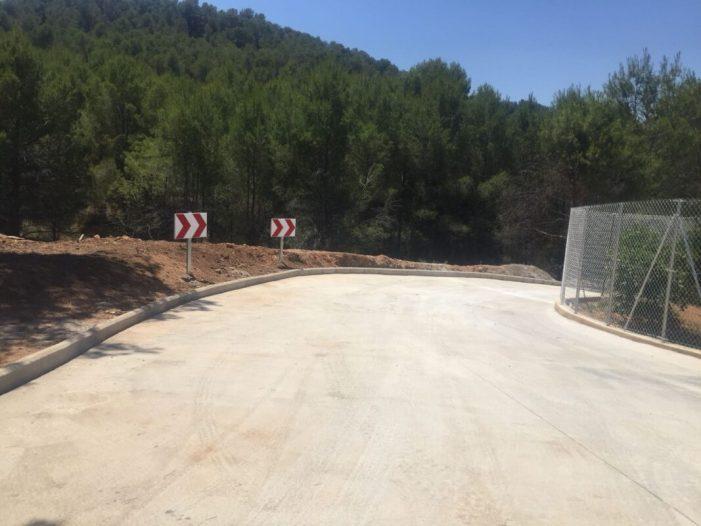 Alcàntera de Xúquer finalitza les obres de reparació del camí de la Mola