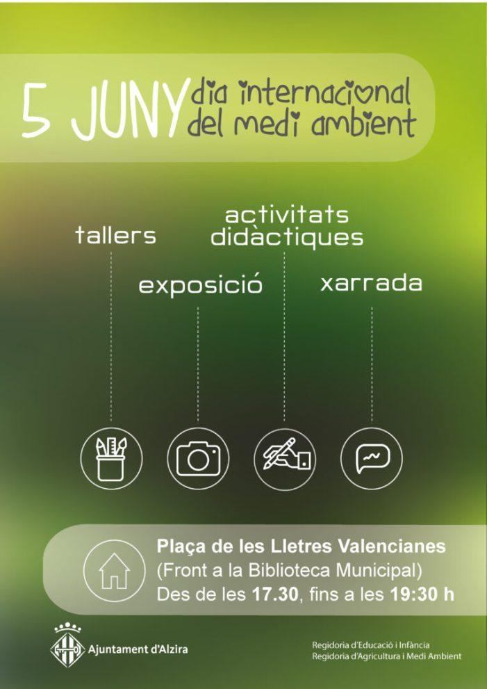 Alzira celebra el Dia Internacional del Medi Ambient amb diferents activitats