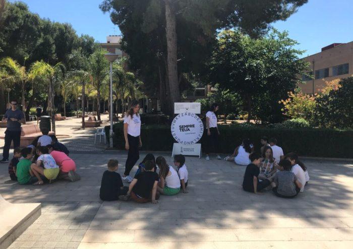El 'Bus de laLlengua'passa per Almussafes