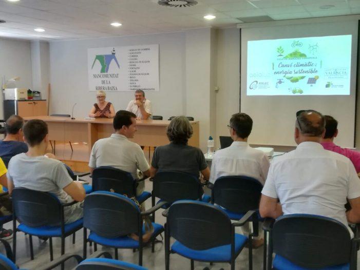 Les jornades pel clima i l'energia sostenible de la Diputació visiten Sueca