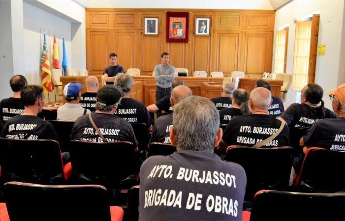 22 treballadors s'incorporen a la Brigada Municipal d'Obres