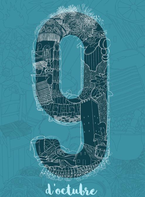 L'Ajuntament d'Almussafes convoca el III Concurs de Cartells sobre el '9 d'Octubre'