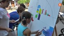 Albalat ha acollit una activitat d'art participatiu