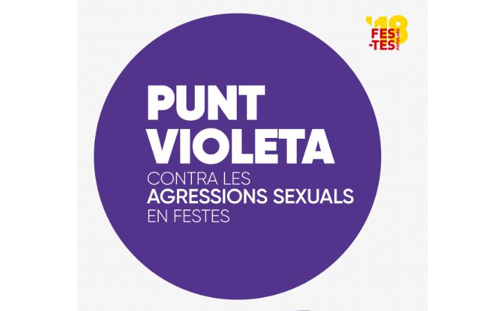 Campanya contra les agressions sexistes i per la igualtat: posa't les ulleres violeta en les festes!