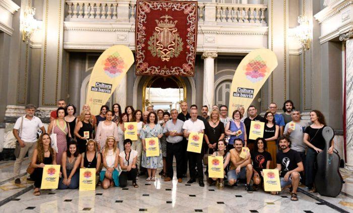 L'Ajuntament acosta 196 activitats culturals a carrers i places de la ciutat en la tercera edició de «Cultura als Barris»