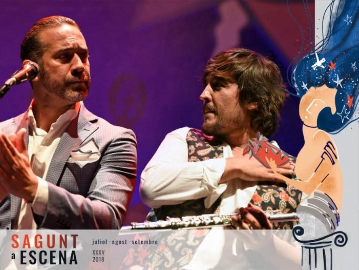 Cloenda de Sagunt a Escena amb cante flamenc