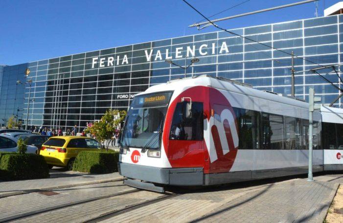 Metrovalencia ofereix serveis especials de tramvia a Fira València per a acudir a Hàbitat