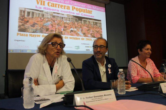 Alzira correrà contra el càncer el proper 20 d'octubre