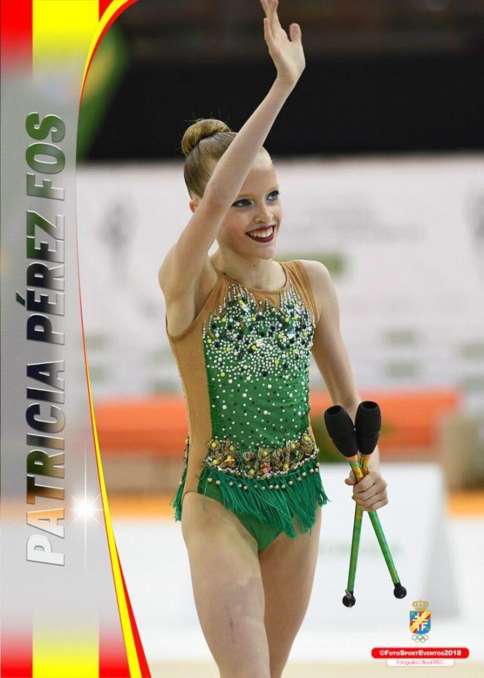 La gimnasta del CEGA Almussafes, Patricia Pérez Fos, ja forma part de la selecció espanyola júnior