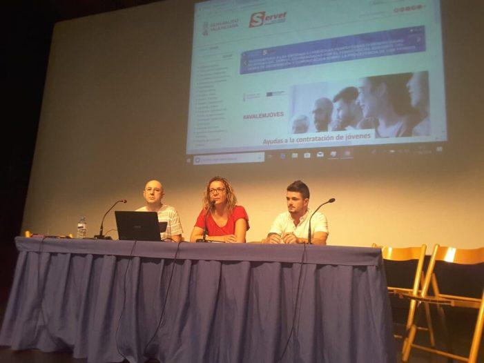 L'Ajuntament d'Almussafes vol contractar a 60 persones amb els programesEmcordiEmcorp