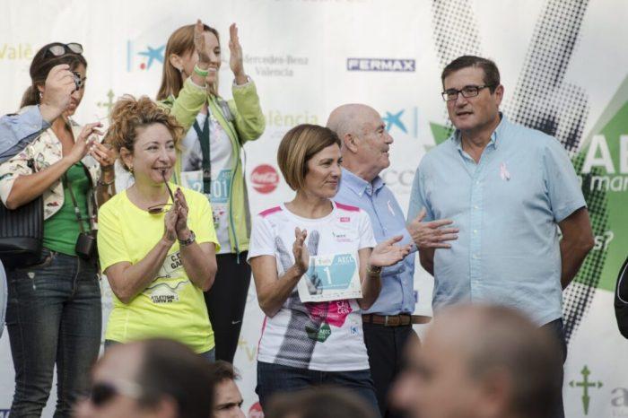 València es bolca per tercer any consecutiu a favor de la lluita contra el càncer