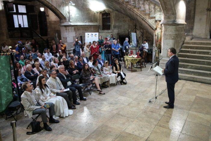 Puig assegura que la literatura valenciana representa a la universal amb el Tirant el Blanch