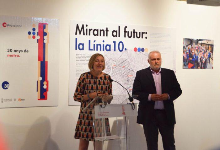 Salvador: '30 anys després de la seua engegada Metrovalencia segueix creixent amb el projecte de la nova Línia 10′
